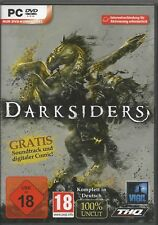 DARKSIDERS (PC, 2010 Dvd-Box) con istruzioni & Steam Key Codice stato espositore