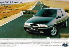 Publicité advertising 1996 (2 pages) Ford Fiesta