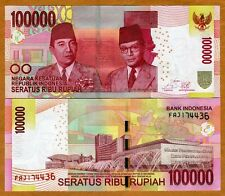 Indonesia, 100,000 (100000) Rupiah, 2014, P-New (New Bank name) , UNC