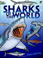 Sharks of the World Coloring Book (Dover Nature Coloring Book) by Llyn Hunter