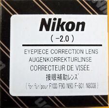 Nikon F100/F90/F801/N90/N8008,F6,F5,F4,F3HP,F3TF3P Diopter Lens -2
