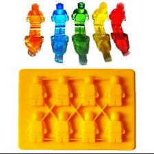 Silikonform Lego Legomensch Eiswürfelform Schokoladenform Backform Geschenkidee