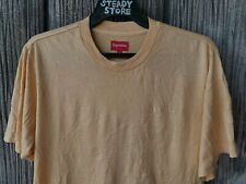 SUPREME SMALL LOGO EMBROIDERY ORANGE T SHIRT M NOT BOX LOGO KERMIT KATE MOSS