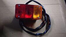 155538 FANALE POSTERIORE COMPLETO SX PIAGGIO APE MP 601 600 APE CAR FLO ORIGINAL