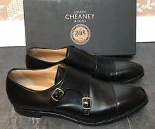 Men's - Cheaney - Harpole - Black Buckle / Monk Shoes - UK 11.5
