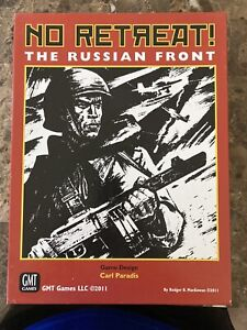 No Retreat Russian Front Deluxe GMT Games