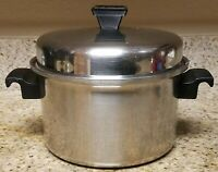 Vintage Kitchen Queen 3 Qt 18-8 Stainless Sauce Pan Made in Usa W Lid cookware