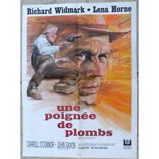 AFFICHE FILM Une Poignée de Plombs Don SIEGEL Richard WIDMARK et Lena HORNE 1969