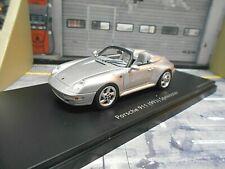 PORSCHE 911 993 Carrera Speedster silber silver Pro R Schuco 1:43