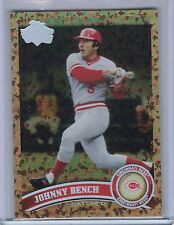 JOHNNY BENCH 2011 Topps Cognac Diamond Anniversary SP #198B   (B4518)