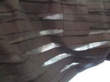 """Roland Mouret black crop pants 32"""" waist see thru filmy"""
