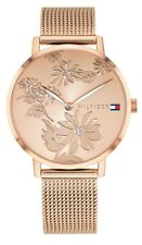 TOMMY HILFIGER Reloj de mujer 1781922 ANÁLOGICO Acero Inoxidable Rosado