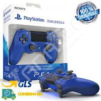 CONTROLLER SONY WIRELESS PS4 DUALSHOCK 4 PLAYSTATION 4 V2 JOYPAD BLU JOYSTICK