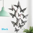 New 3d Hollow Butterflies Wall Sticker For Home Decoration Living Room Bedr Sm
