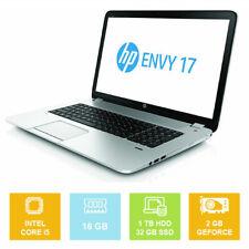 "17.3"" HP Envy 17T-J000, Intel i5 up to 3.60GHz, 16GB, 1TB + SSD, GeForce Laptop"
