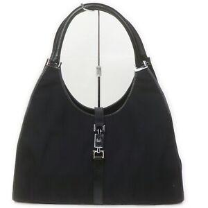 Gucci Shoulder Bag  Black Nylon 1515724