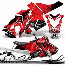 Sled Wrap for Polaris AXYS Graphic Kit Stickers Snowmobile SKS Pro RMK REAP RED