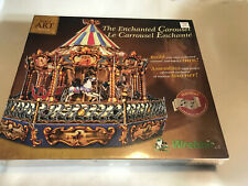 The Enchanted Carousel Musical Motion 3D Puzzle Wrebbit Built Art New Sealed