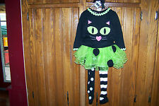 NWT MUD PIE CAT TUTU SET 5T