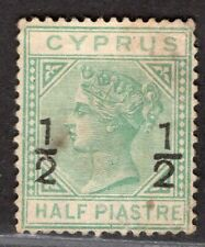 CYPRUS 1884 STAMP Sc. # 18 MNG