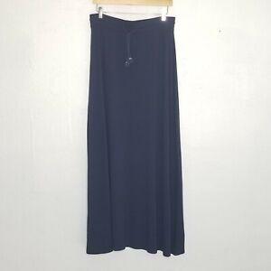 Tommy Bahama Tambour Tassel Skirt Deep ocean blue Sz M women