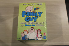 """""""New"""" Family Guy - Collector's Pack - Season 1-5 + Uncovered - DVD - Region 2"""