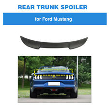 Carbon Fiber Rear Trunk Boot Spoiler Tail Wing Lip For Ford Mustang Coupe 15-19