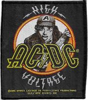 Official Merch Woven Sew-on PATCH Heavy Metal Rock Music AC/DC High Voltage #b