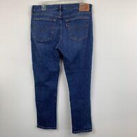 Levi's Womens Jeans Blue Boyfriend Fit Ankle Size 31