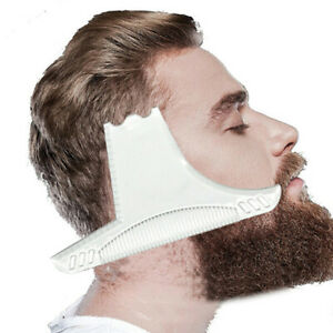 Men's Beard Combs Shaping Styling Tool Comb Transparent for Hair Beards T W*AU