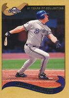 2002 Topps Gold #230 Jeromy Burnitz /2002 Milwaukee Brewers