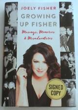 NEW Growing Up Fisher SIGNED by JOELY FISHER  1st Edition