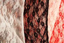 Telas y tejidos encajes de encaje para costura y mercería