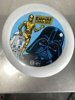 Vintage Star Wars The Empire Strikes Back Butger King Coca Cola Frisbee 1981
