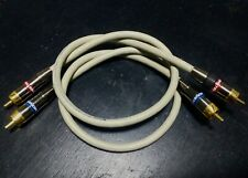 Monster Cable M350 Cavo RCA Pin jack X Amplificatore CD Giradischi radio HiFi