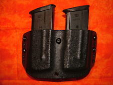 DOUBLE MAG HOLSTER BLACK CARBON FIBER KYDEX FN 5.7 AND 5.7 MK2 FIVE SEVEN