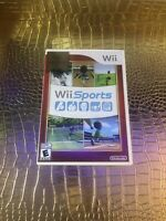 Wii Sports Nintendo Wii TENNIS GOLF BASEBALL BOWLING Video Game TESTED WORKING