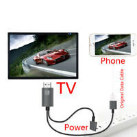 USB Type C to HDMI TV HDTV Cable Adapter Converter For iPhone iOS Android Phone