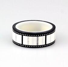 Movie Reel Film Print Washi Craft Tape Decorative Scrap Book 15mm x 5m SM