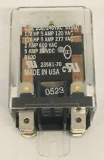 Deltrol Controls 265 Series 5 Amp general purpose relay 20597-85 265F DPDT 240VA