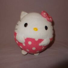 Hello Kitty Ball Shape Sanrio Ty Beanie Ballz Plush Stuffed Animal 4
