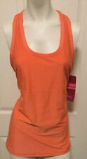 Ingrid & Isabel Be Maternity Tank Top Shirt Workout Yoga Shelf Bra XL Orange
