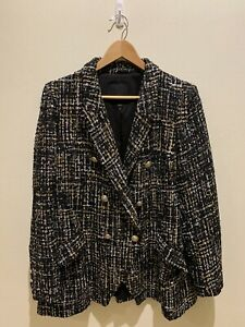 River Island Double Breasted Jacket Size 22