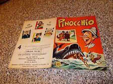 ALBUM PINOCCHIO IMPERIA 1964 COMPLETO ORIG. EDICOLA TIPO PANINI LAMPO EDIS MIRA