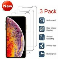 For iPhone 11 Pro Max XR XS MAX Tempered Glass Protective Screen Protector Film
