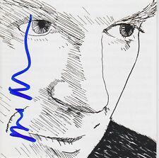 David Byrne signed Grown Backwards cd
