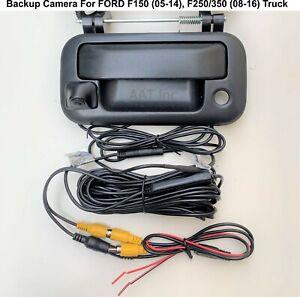 Backup Camera for Ford F150 05-14, F250/350 08-16 w Pioneer Sony JVC  App Radio