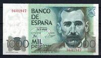Billete de España 1.000 pesetas Benito Perez Galdos 1979  9641947  paper money