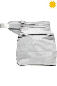 RRP €935 RICK OWENS DIRT S/S 18 Bum Belt Bag Oversized Coated HANDMADE in Italy