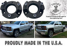 "Chevy Silverado 2.5"" Front Leveling lift kit 2007-2017 GMC Sierra GM 1500"